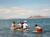 Future paddle boarders at Pyramid Lake