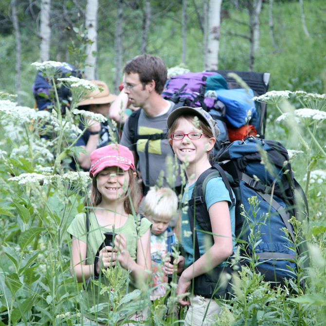 Backpacking meals your kids will like
